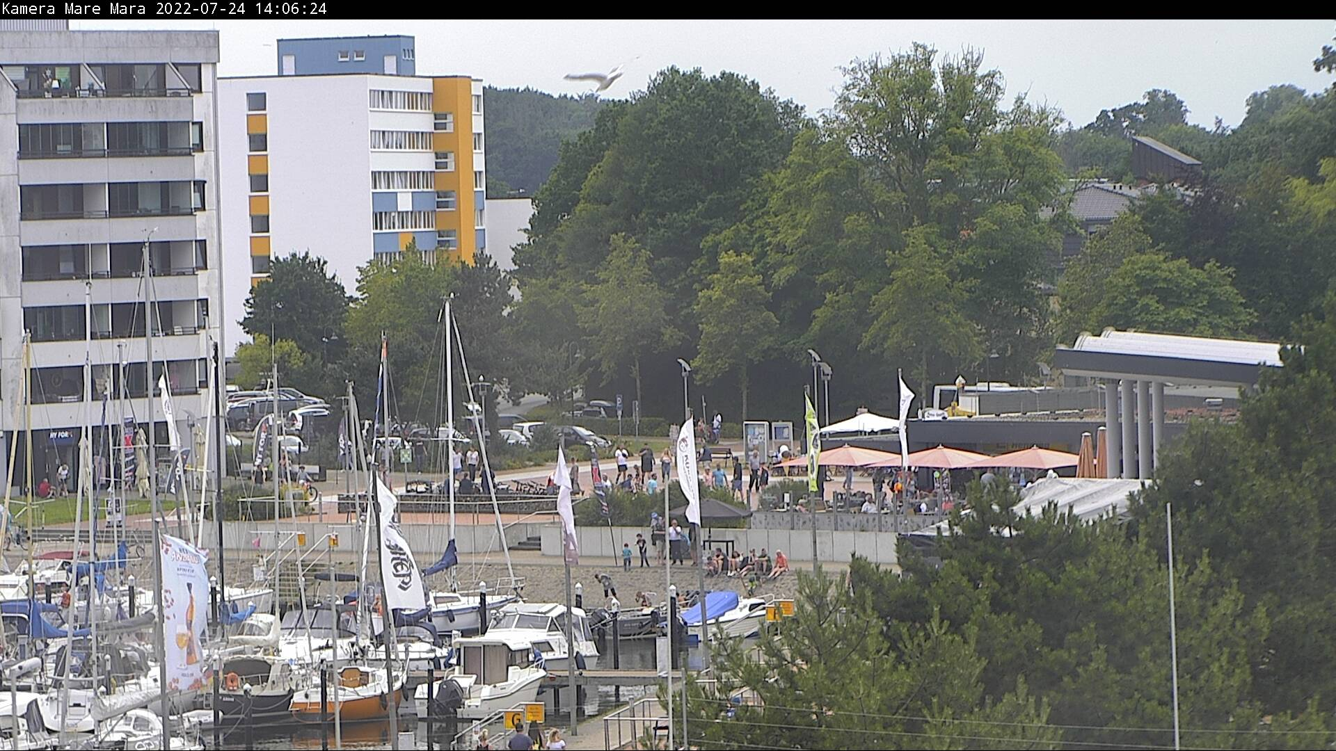 Ostseebad Damp – Aktionsstrand Webcam Live